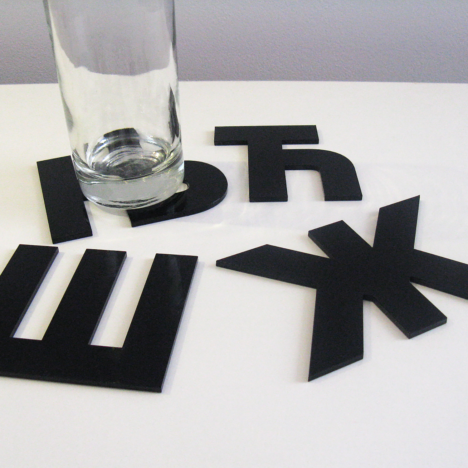 Acrylic coasters | Lasercut jewelry | Rename | Made in Belgrade