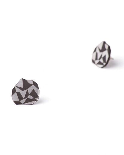 Golden rule earrings | Rename jewelry | Lasercut jewellery | Statement earrings | Made in Belgrade