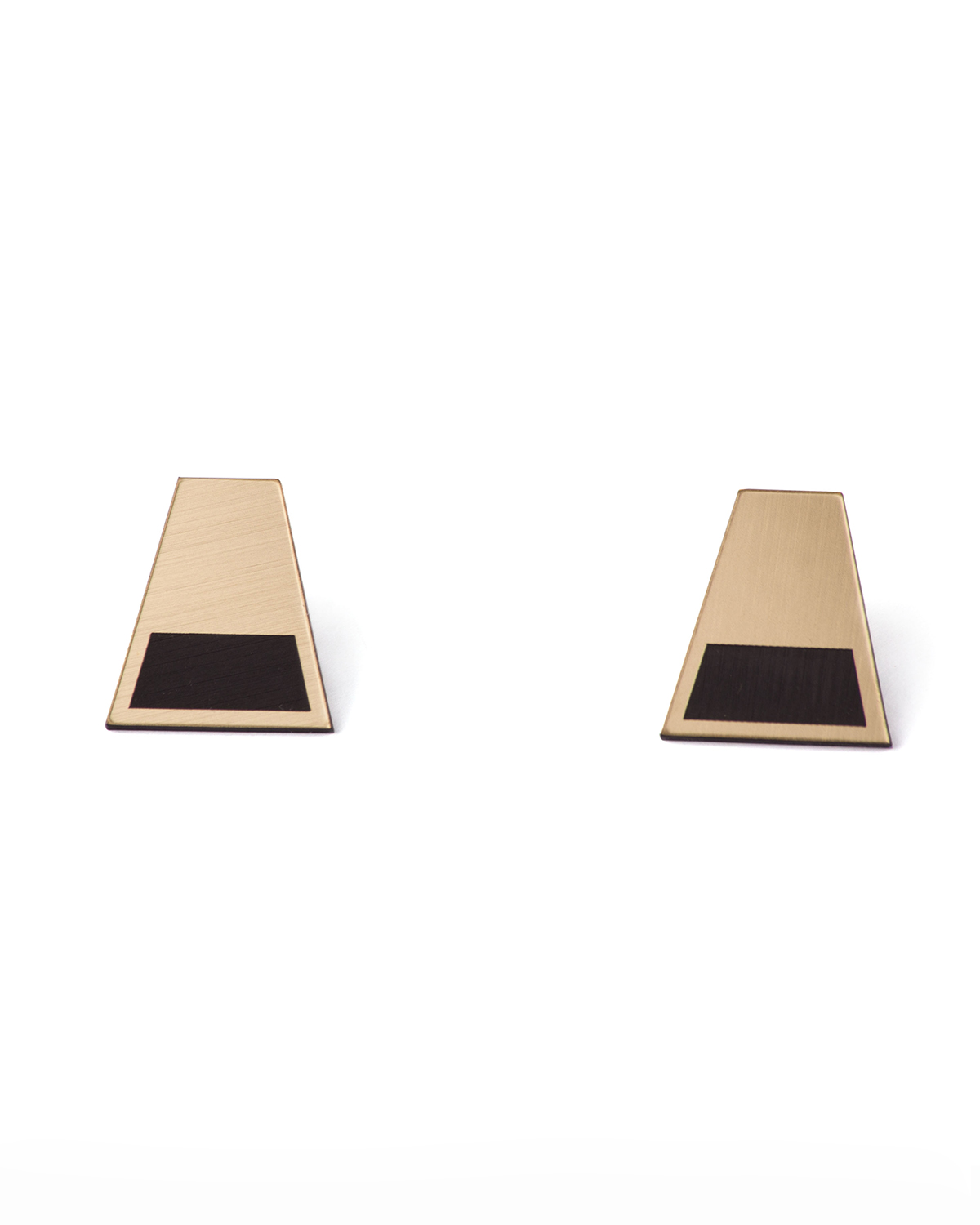 Golden rule earrings | Rename jewelry | Lasercut jewellery | Statement earrings | Made in Belgrade