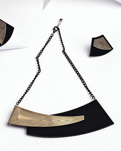 Rename jewelry | Lasercut jewellery | Statement necklace | Made in Belgrade