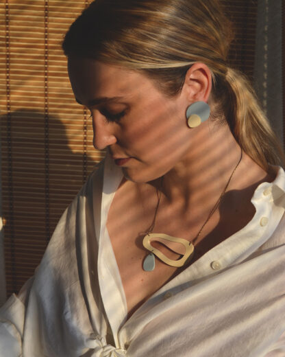 Rename jewelry   Contemporary jewellery   Statement necklace   Made in Belgrade